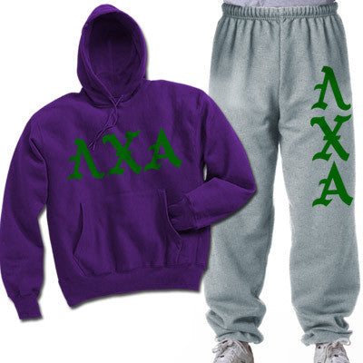 Lambda Chi Alpha Printed Old English Package - CAD