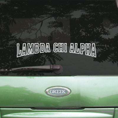 Lambda Chi Alpha Stadium Sticker - Angelius Pacific apsc