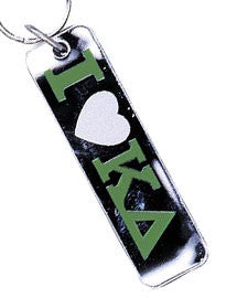 Sorority I Love Keychain - Craftique cqMHK