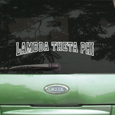 Lambda Theta Phi Stadium Sticker - Angelius Pacific apsc
