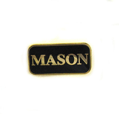 Mason Lapel Pin - SP-01-2