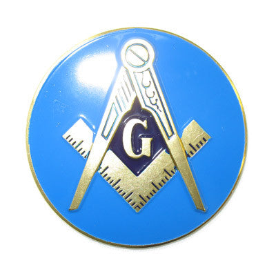 Masonic Car Badge/Emblem