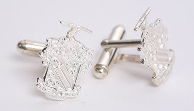Fraternity Crest Cufflinks - mc1758