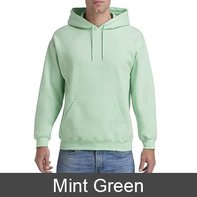 Phi Mu Hooded Sweatshirt - Gildan 18500 - TWILL