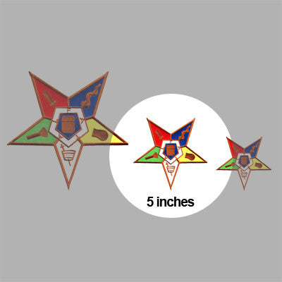 OES Embroidered Patch Crest - 5-inch