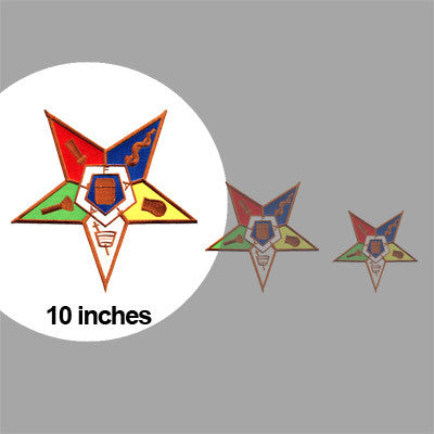 OES Embroidered Patch Crest - 10-inch