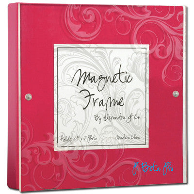 Pi Beta Phi Magnetic Picture Frame - Alexandra Co. a1016
