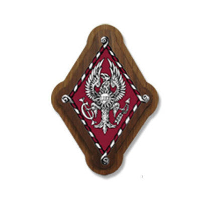 Pi Beta Phi Large Wooden Crest - 503