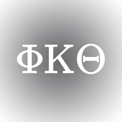 Phi Kappa Theta Car Window Sticker - compucal - CAD
