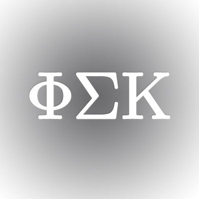 Phi Sigma Kappa Car Window Sticker - compucal - CAD