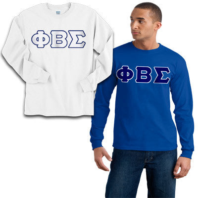 Phi Beta Sigma 2 Longsleeve Tees Package - Gildan 2400 - TWILL