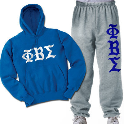 Phi Beta Sigma Printed Old English Package - CAD