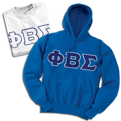 Phi Beta Sigma Hoody/T-Shirt Pack - TWILL