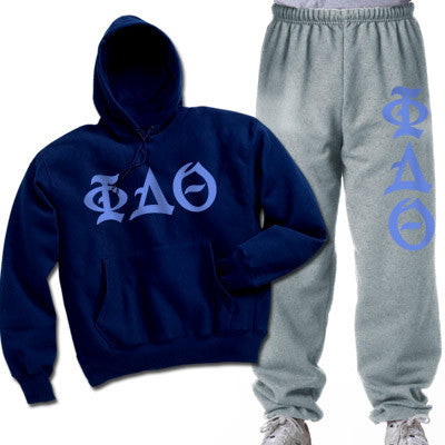 Phi Delta Theta Printed Old English Package - CAD