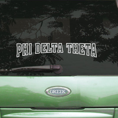 Phi Delta Theta Stadium Sticker - Angelius Pacific apsc