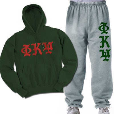 Phi Kappa Psi Printed Old English Package - CAD