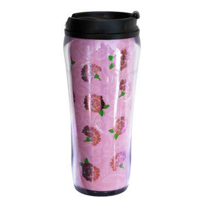 Phi Mu Metallic Travel Mug - Alexandra Co. a1061