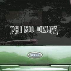Phi Mu Delta Stadium Sticker - Angelius Pacific apsc