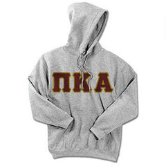 Pi Kappa Alpha Standards Hooded Sweatshirt - $25.99 Gildan 18500 - TWILL
