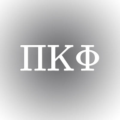 Pi Kappa Phi Car Window Sticker - compucal - CAD