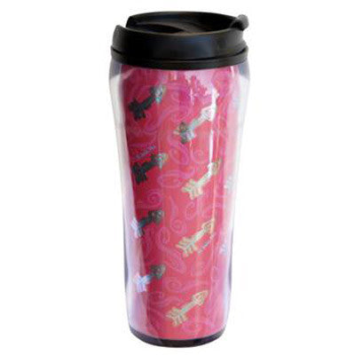 Pi Beta Phi Metallic Travel Mug - Alexandra Co. a1061