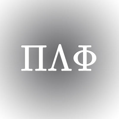 Pi Lambda Phi Car Window Sticker - compucal - CAD
