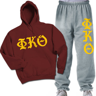 Phi Kappa Theta Printed Old English Package - CAD