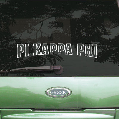 Pi Kappa Phi Stadium Sticker - Angelius Pacific apsc