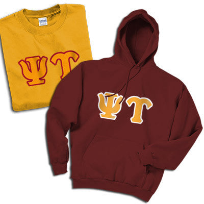 Psi Upsilon Hoody/T-Shirt Pack - TWILL