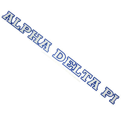 Alpha Delta Pi Car Decal - Rah Rah Co. rrc