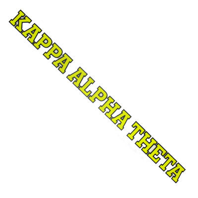 Kappa Alpha Theta Car Decal - Rah Rah Co. rrc