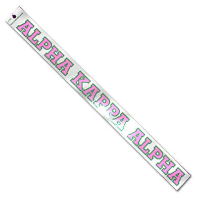 Alpha Kappa Alpha Car Decal - Rah Rah Co. rrc