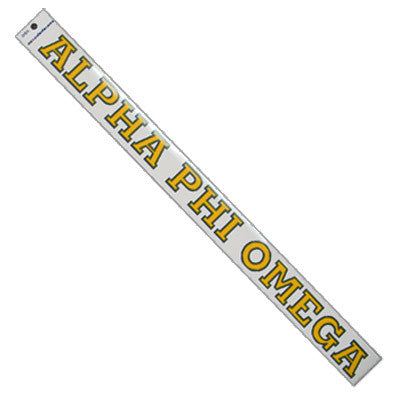 Alpha Phi Omega Car Decal - Rah Rah Co. rrc