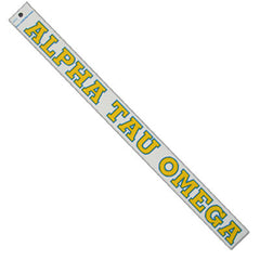 Alpha Tau Omega Car Decal - Rah Rah Co. rrc