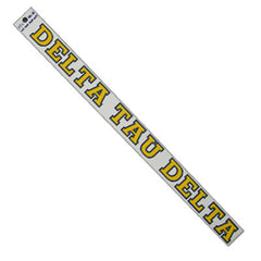 Delta Tau Delta Car Decal - Rah Rah Co. rrc