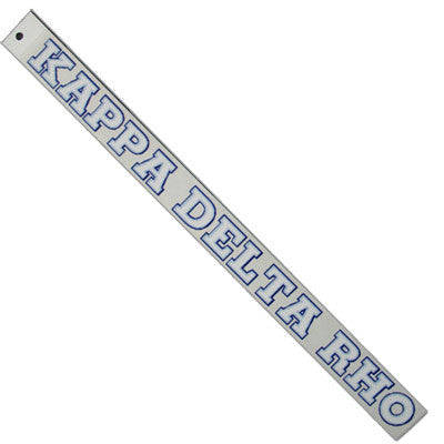 Kappa Delta Rho Car Decal - Rah Rah Co. rrc