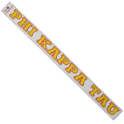 Phi Kappa Tau Car Decal - Rah Rah Co. rrc