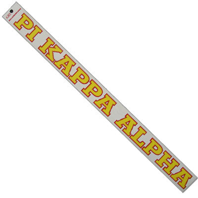 Pi Kappa Alpha Car Decal - Rah Rah Co. rrc