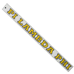 Pi Lambda Phi Car Decal - Rah Rah Co. rrc