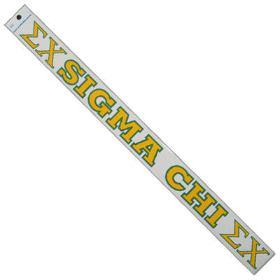 Sigma Chi Car Decal - Rah Rah Co. rrc