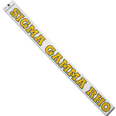 Sigma Gamma Rho Car Decal - Rah Rah Co. rrc