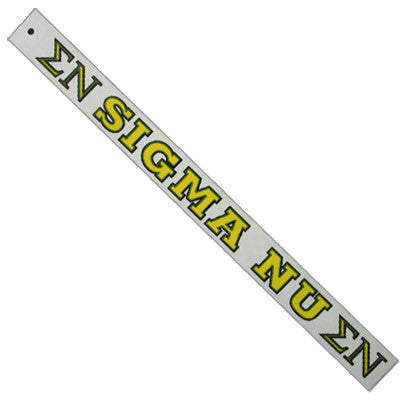 Sigma Nu Car Decal - Rah Rah Co. rrc