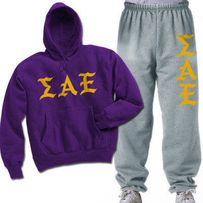 Sigma Alpha Epsilon Printed Old English Package - CAD