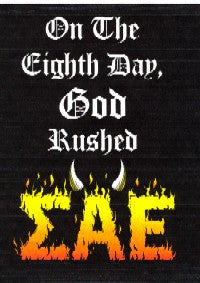 On The Eighth Day Rush Shirt