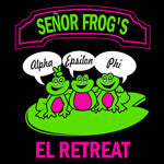 Senor Frogs - Custom Screen Print Design