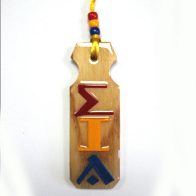 Sigma Iota Alpha Paddle Tiki - Discontinued