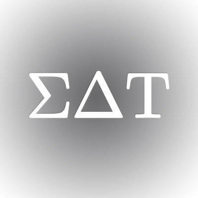 Sigma Delta Tau Car Window Sticker - compucal - CAD