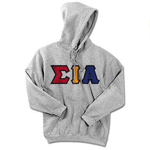 Sigma Iota Alpha Standards Hooded Sweatshirt - $25.99 Gildan 18500 - TWILL