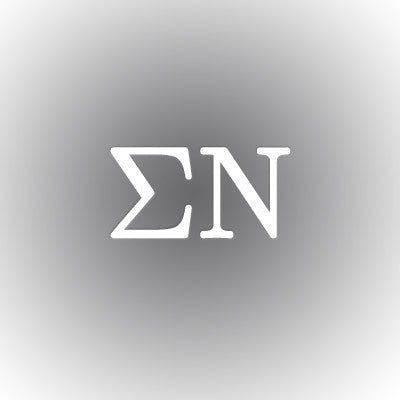 Sigma Nu Car Window Sticker - compucal - CAD