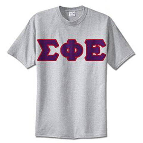 Sigma Phi Epsilon Standards T-Shirt - $14.99 Gildan 5000 - TWILL